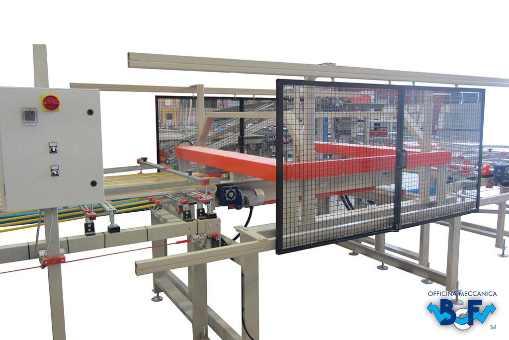 Controllo Sfilato per Materiale Cotto con Quadro Elettrico   BCF Srl