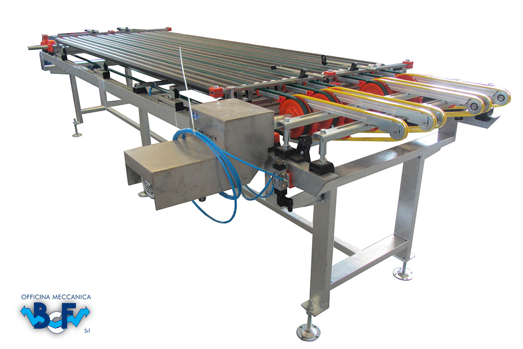 Belts Device with Roller and Arm of Approach   BCF Srl