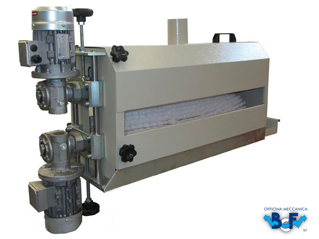 Brush with Double Motor | BCF Srl