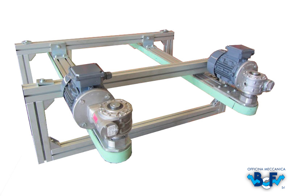 Centering Device Belts   BCF Srl