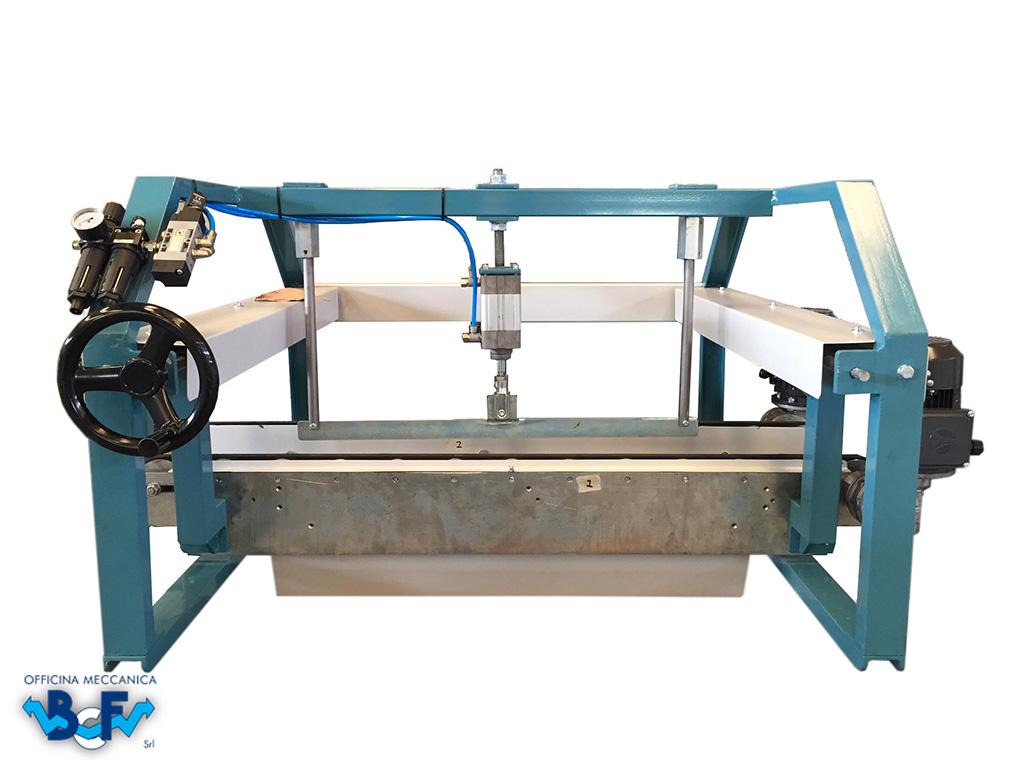 Control de Defectos Modelo Material Crudo | BCF Srl