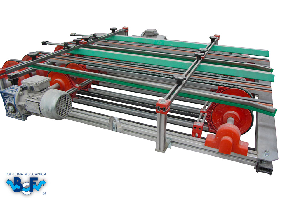 Device to Equalize Double Row Tiles | BCF Srl