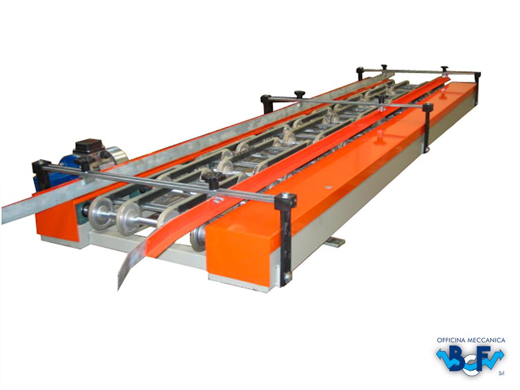 Electronic Flow Regulator with Belts | BCF Srl