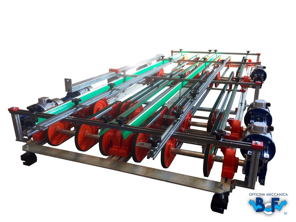 Electronic Flow Regulator Double Row | BCF Srl