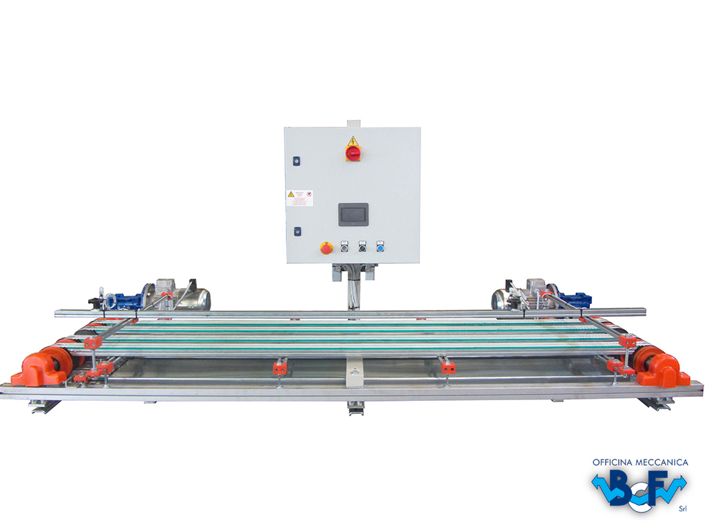 Electronic Prepare of Tiles Line with Electric Panel   BCF Srl