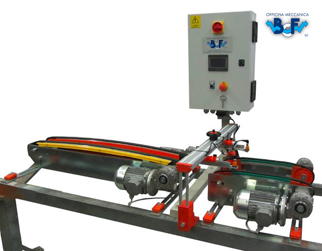 Electronic Tile Turner with Rectifier | BCF Srl