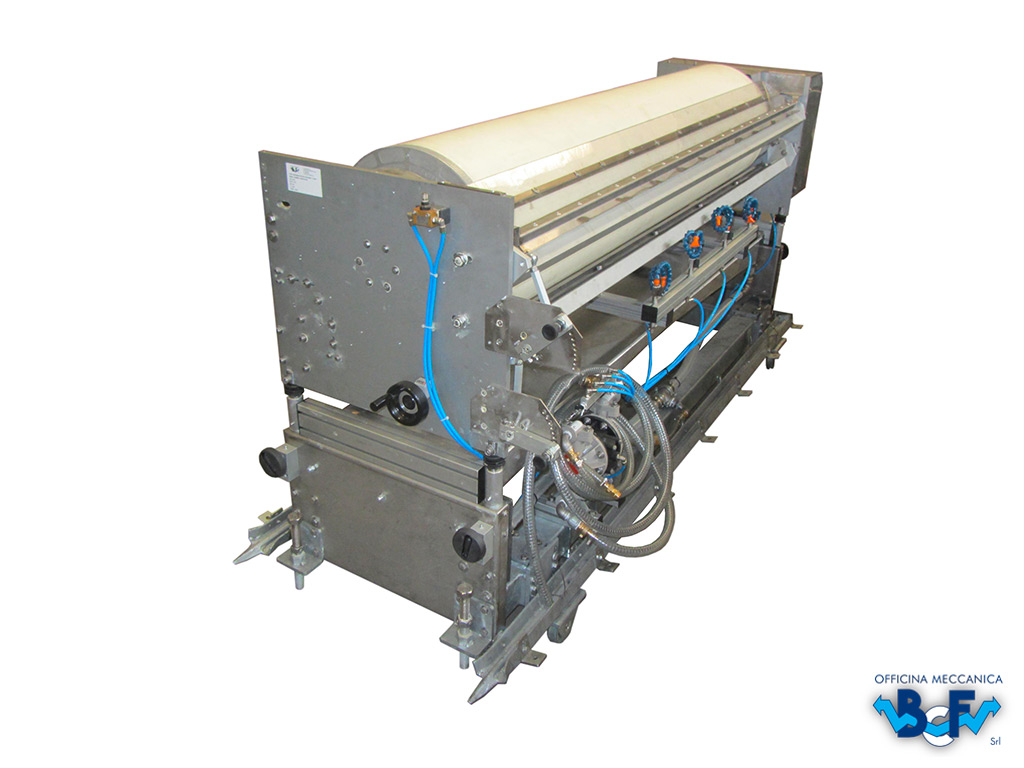 Engobing Rotary Machine | BCF Srl