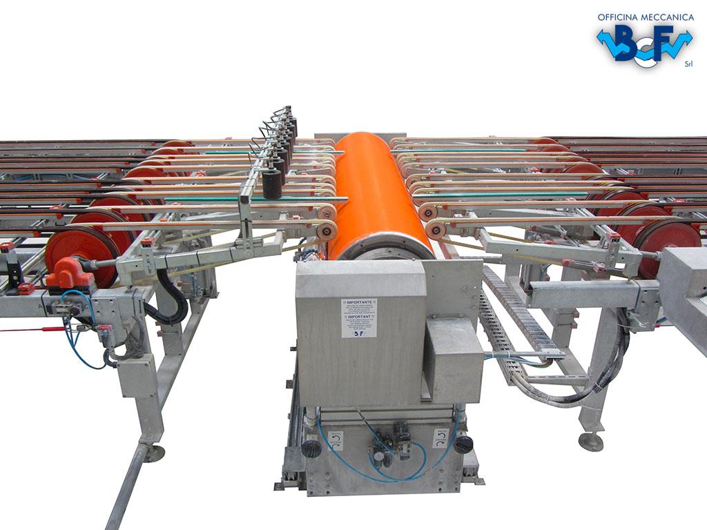 Engobing Rotary Machine for Tiles | BCF Srl