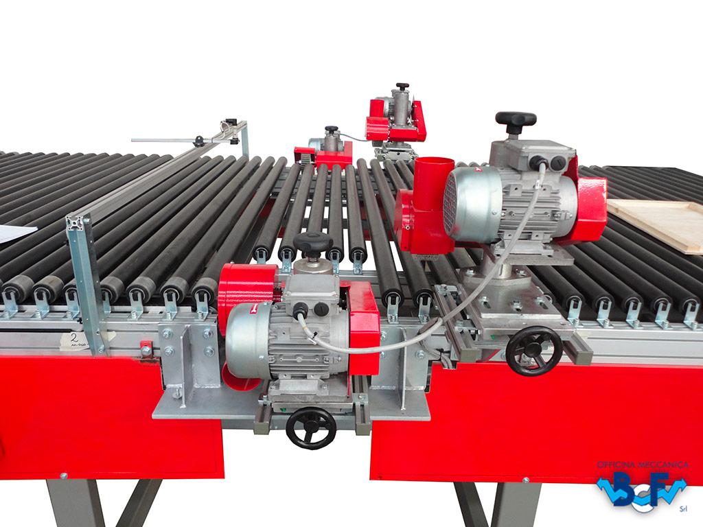 Fettling Unit for Roller Conveyor   BCF Srl