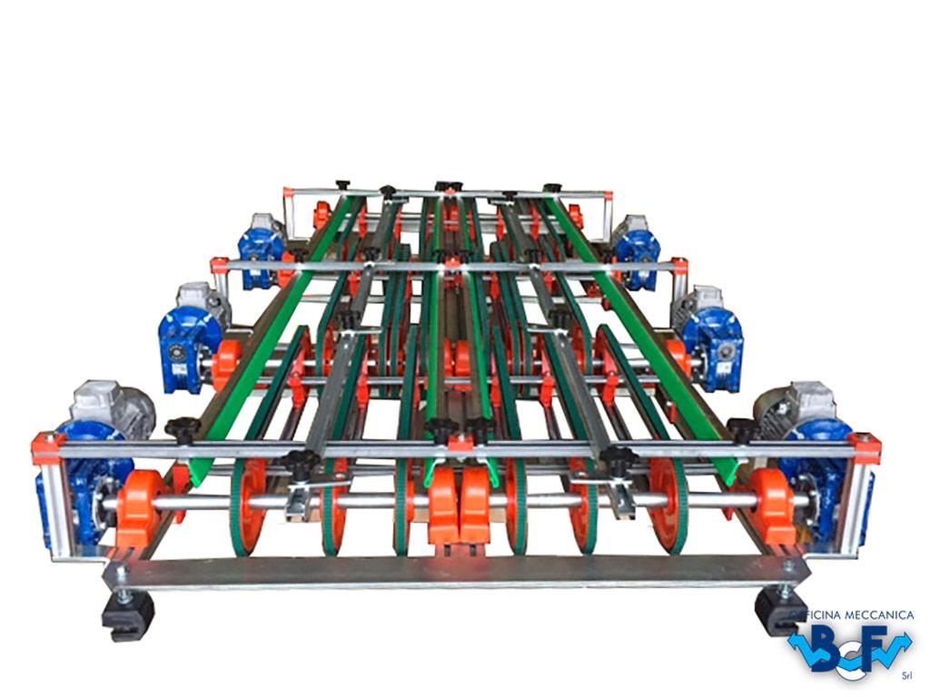 Uniformator Electrònico de Flujo en Doble Fila   BCF Srl